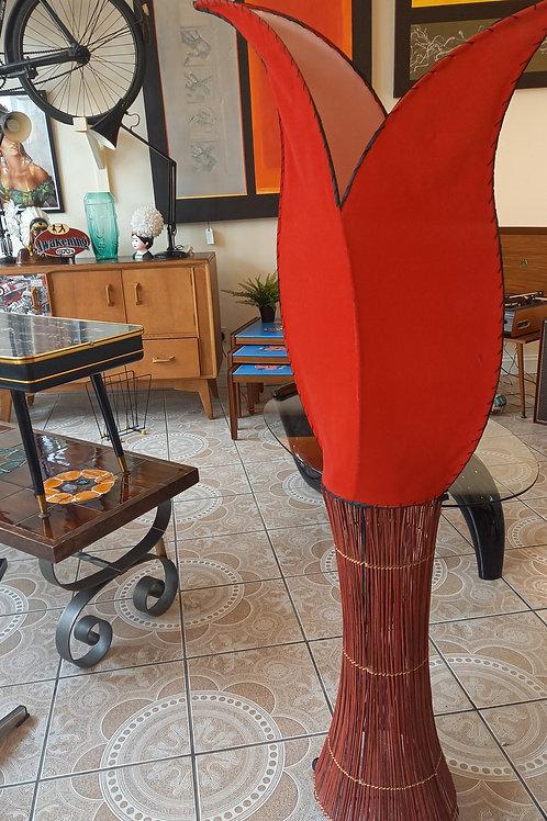 Vintage Red Tulip Light