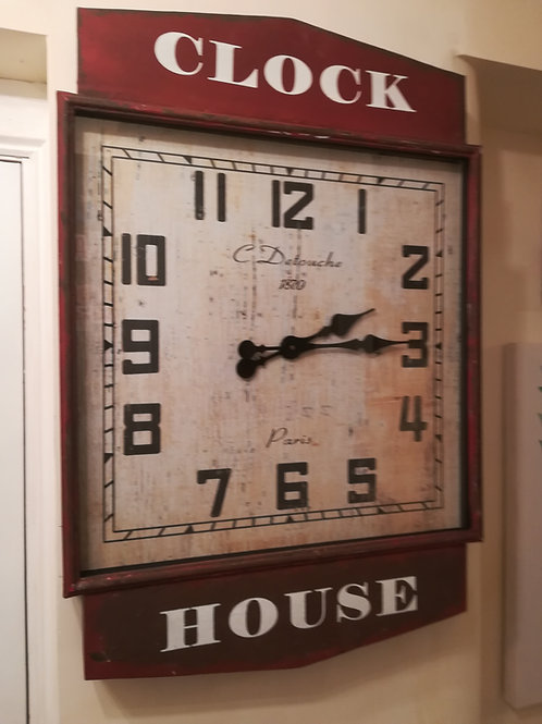 Industrial Large Wall Clock