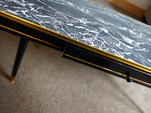 1960s Black Beauty Coffee Table