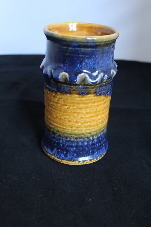 The Beach -West German Vase