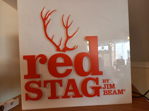 Advertising Red Stag Light