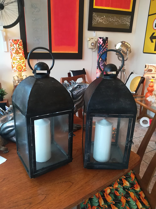 Two  Vintage Lanterns