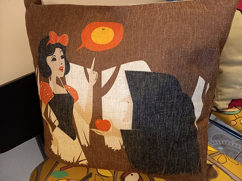 Cartoon Cushion - Snow White