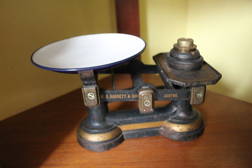 W.S Barrett & Sons  Scales and Weights