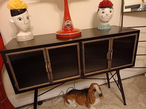 Industrial Orwell Metal  Side Cabinet