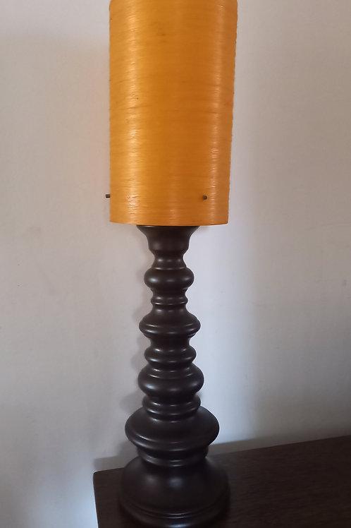 Fantastic Vintage Bulbous Table  Lamp
