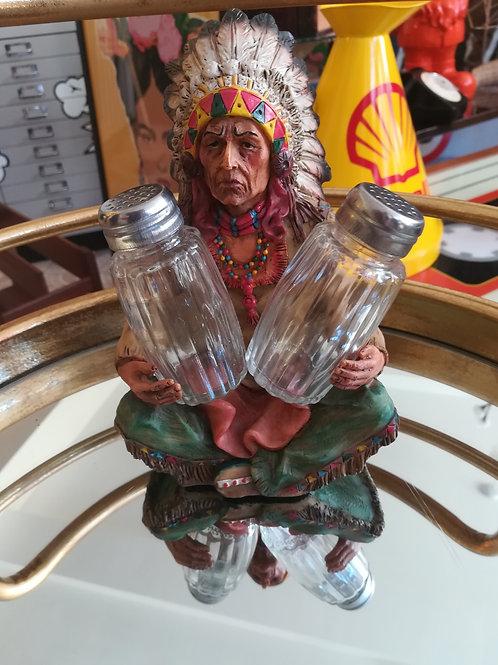 Native American Salt and Pepper Set