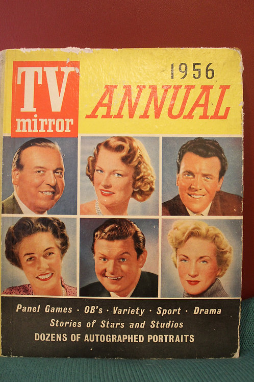 1956 TV Mirror Annual