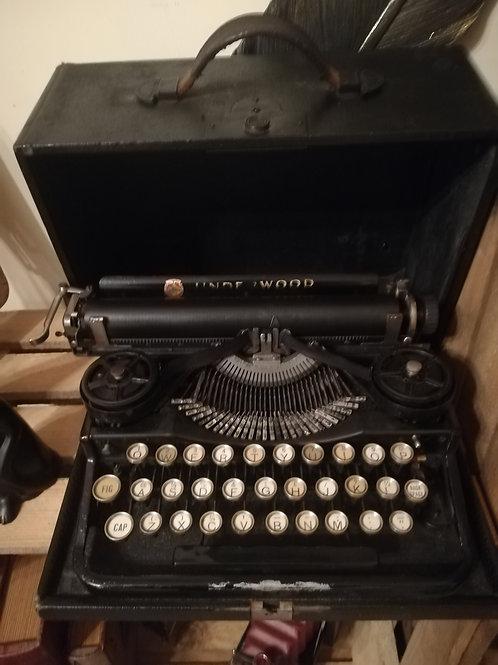 Vintage Remington Typewriter and Case