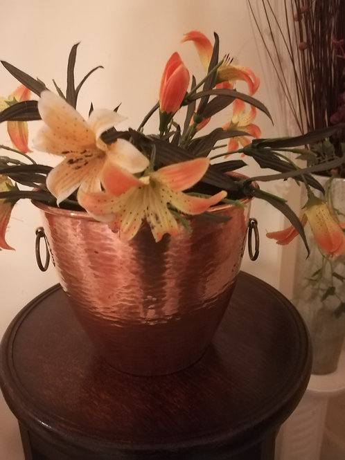 Arts & Crafts Copper Plant Pot