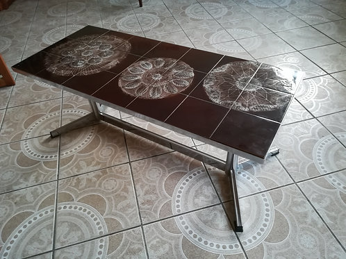 1970s Tile  Top Table