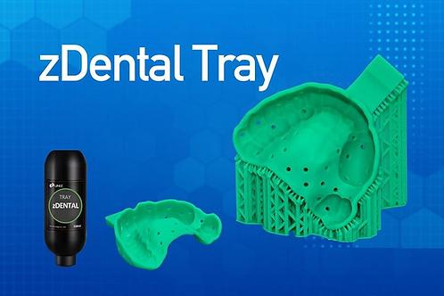 zDental Tray Green  - 500ml resin