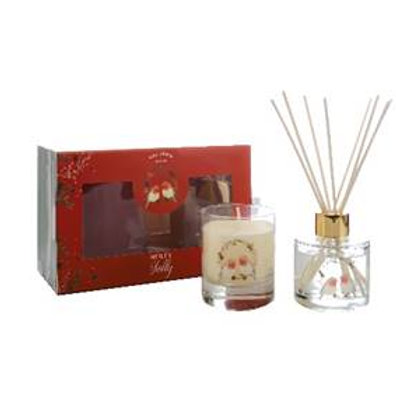 Wax Lyrical Christmas Candle & Reed Diffuser Gift Set