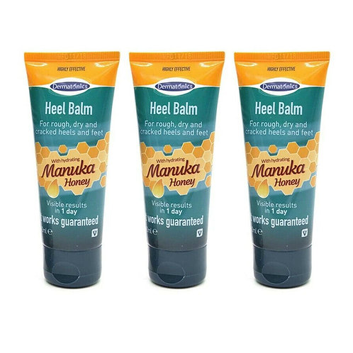 Dermatonics Natural Care Heel Repair Cream - Multi-Buy Pack of 3
