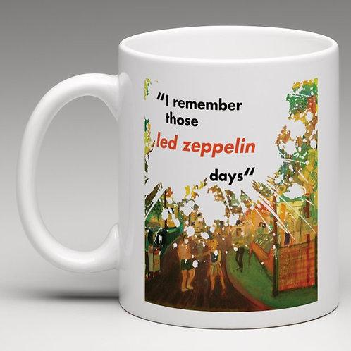 Carnival Road 'Led Zeppelin Days' mug