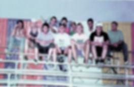 vlnr: Hansi Disdarovic; Thomas Sutter; Karl Metzger; Thorsten Waage; Günter Gethke; Wolfgang Schäuble; Franz Simon; Dietmar Eschbach; Roland Vogt; Peter Eckert; Hannes Rotzinger.