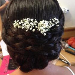 #hairstylist #bridalhair #bridalhair #hairupplait