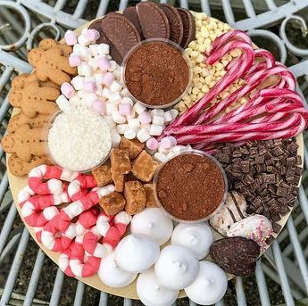 Hot Chocolate Platter