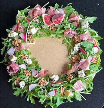 Salad Wreath
