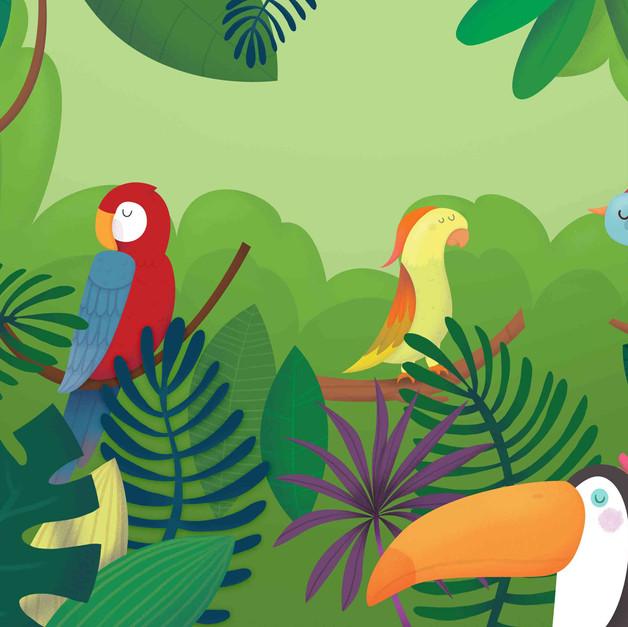 Jungle's birds