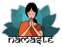 Logo centro Yoga Namastè