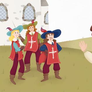 The three musketeers - I tre moschettieri.jpg