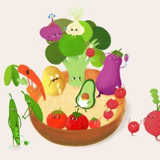 Veggie's life