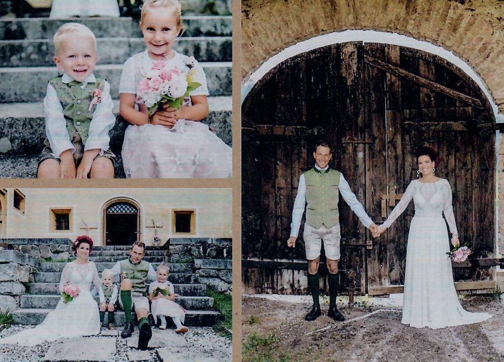 Krallinger Simone und Michael mit Marie und Lukas