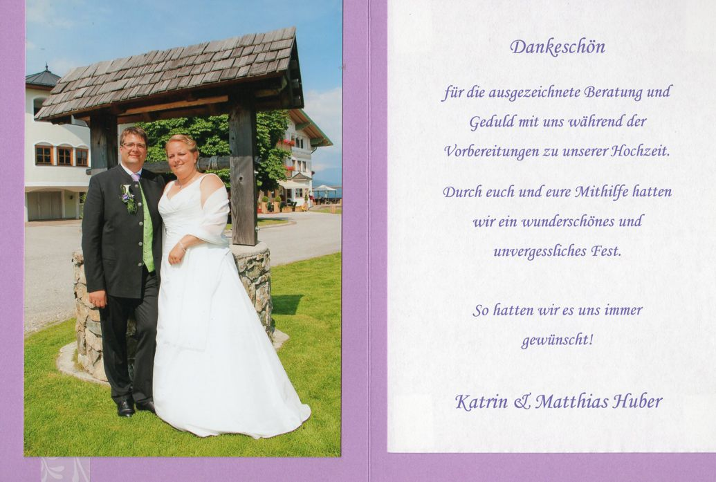 Huber Katrin und Matthias