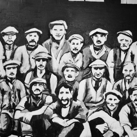 Working Class History Paintings