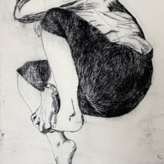 Dry Point Etchings