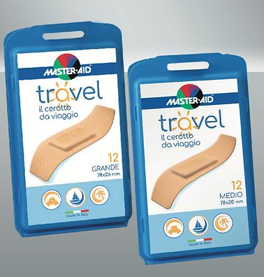 Cestovní náplasti citlivá pokožka nerozbitná cestovní plastová krabička