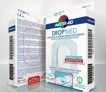 Drop Med sterilní antiseptická náplast citlivá pokožka