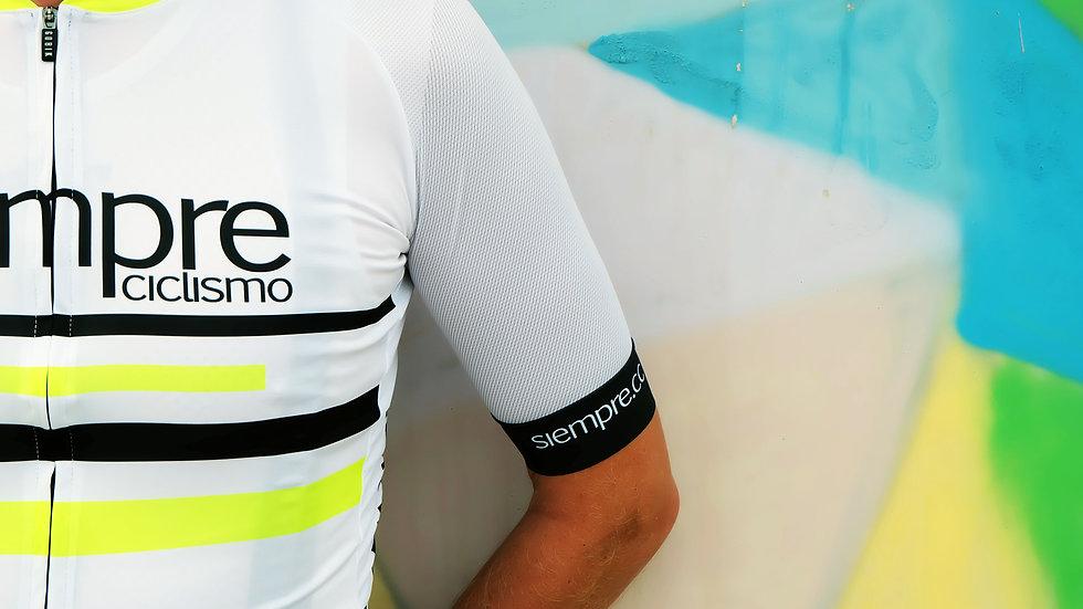 Siempre Ciclismo 2019/2020 White Jersey