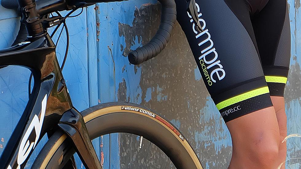 Culotte corto con tirantes Siempre Ciclismo 2020 Team