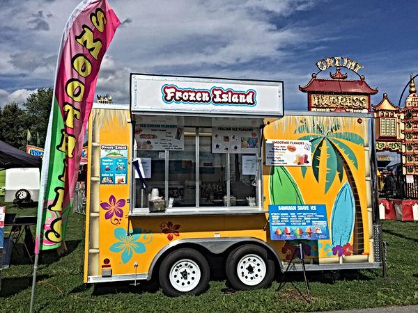Frozen Island Dessert Truck