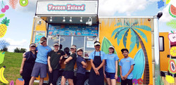 Frozen Island Crew