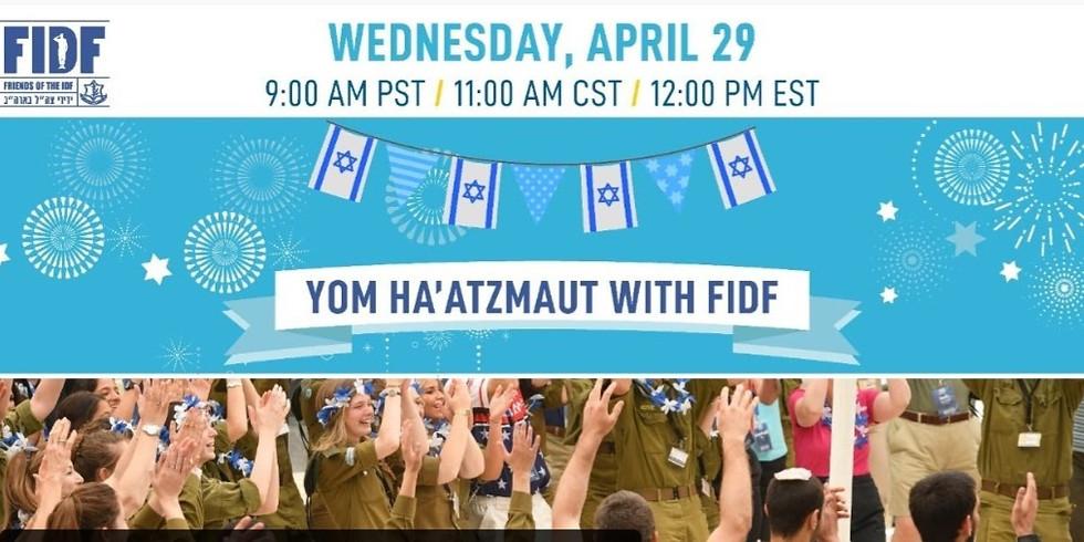 Yom Ha'atzmaut with FIDF