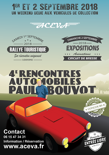 ACEVA 4e Rencontres Automobiles Paul BOUVOT