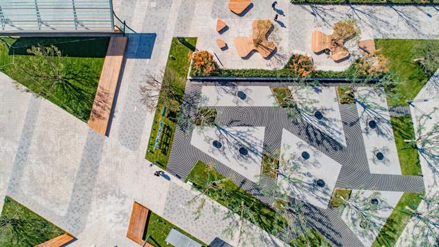 春和景明西铭小镇中心公园设计