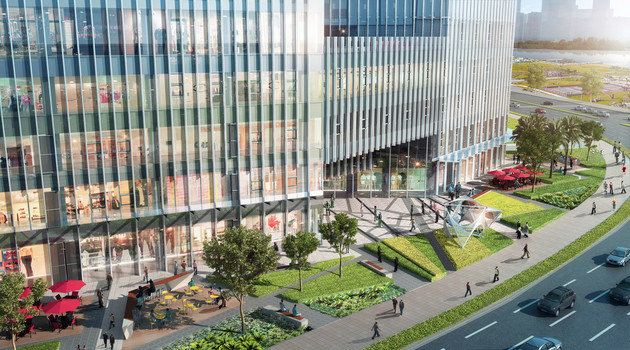 横琴国际交易广场景观设计