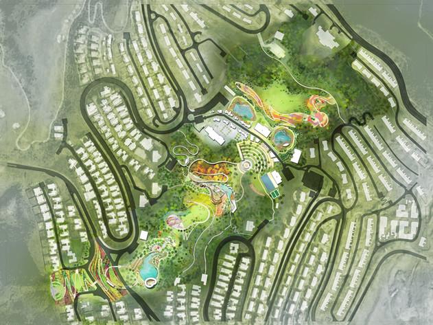抚仙湖国际旅游度假区峡谷公园景观规划与设计