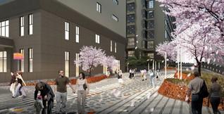重庆大九街街区景观设计