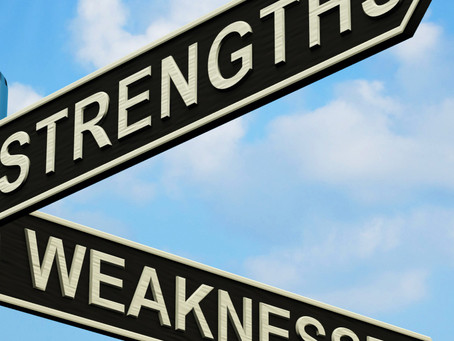 Strengths and Weaknesses – Knowing These Can Increase Productivity