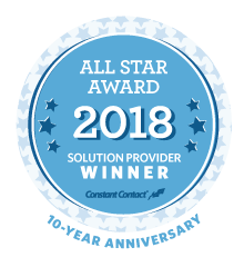 Milrich Virtual Professionals, LLC.  Earns 2018 Constant Contact Solution Provider All Star Award