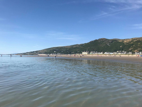 A Beach Day in Barmouth