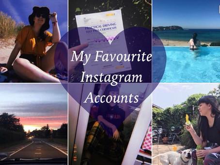 My Favourite Instagram Accounts
