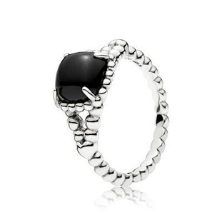 Black Vibrant Spirit Ring - Pandora