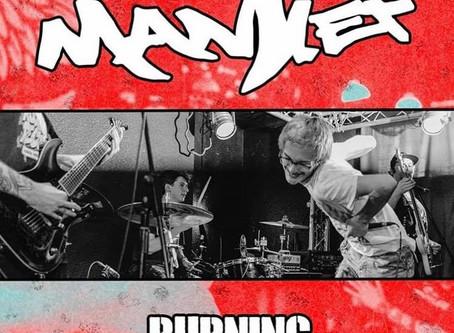 EP Review: Mantlet - Burning