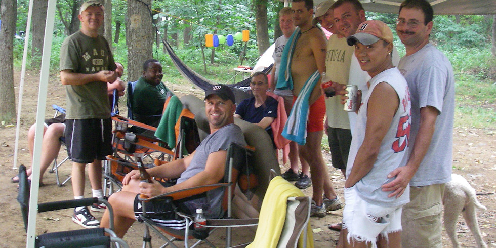 Camping on the Shenandoah River - Campsite #11